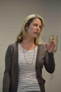 Christina Wolbrecht teaching